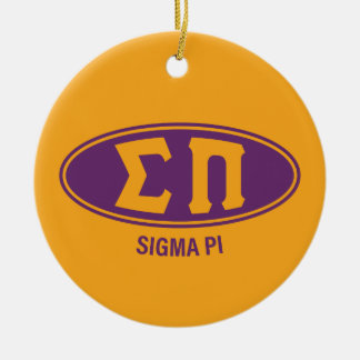 Sigma Pi | Vintage Christmas Ornament