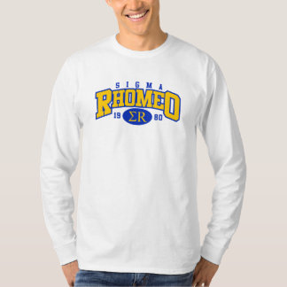 Sigma Rhomeo Athletic 2 color Long Sleeve T-Shirt