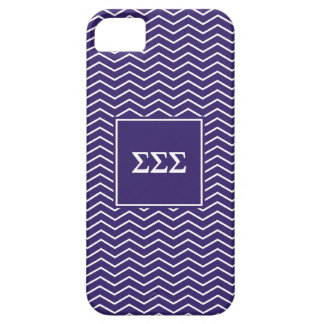 Sigma Sigma Sigma | Chevron Pattern iPhone 5 Cover
