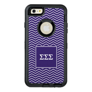 Sigma Sigma Sigma | Chevron Pattern OtterBox iPhone 6/6s Plus Case