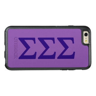 Sigma Sigma Sigma Lil Big Logo OtterBox iPhone 6/6s Plus Case