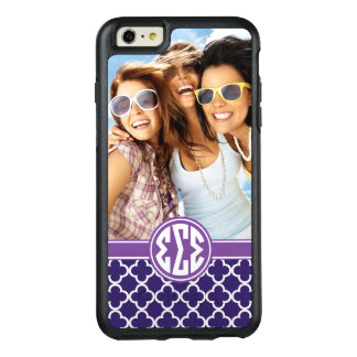 Sigma Sigma Sigma | Monogram and Photo OtterBox iPhone 6/6s Plus Case