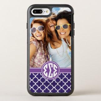 Sigma Sigma Sigma | Monogram and Photo OtterBox Symmetry iPhone 8 Plus/7 Plus Case
