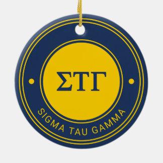 Sigma Tau Gamma | Badge Christmas Ornament
