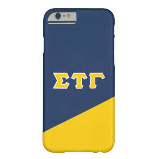 Sigma Tau Gamma | Greek Letters Barely There iPhone 6 Case
