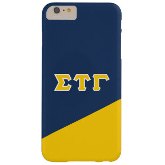 Sigma Tau Gamma   Greek Letters Barely There iPhone 6 Plus Case
