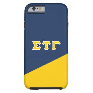 Sigma Tau Gamma | Greek Letters Tough iPhone 6 Case