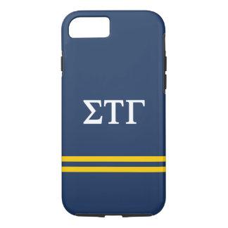 Sigma Tau Gamma | Sport Stripe iPhone 7 Case