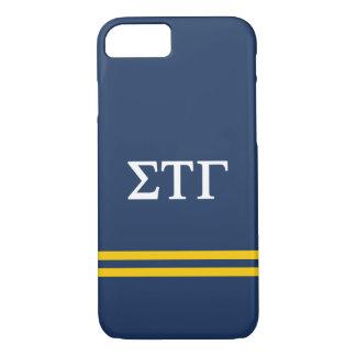 Sigma Tau Gamma | Sport Stripe iPhone 8/7 Case