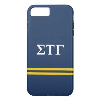 Sigma Tau Gamma | Sport Stripe iPhone 8 Plus/7 Plus Case