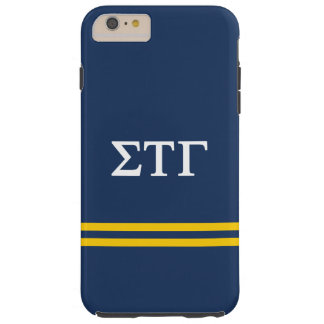 Sigma Tau Gamma | Sport Stripe Tough iPhone 6 Plus Case