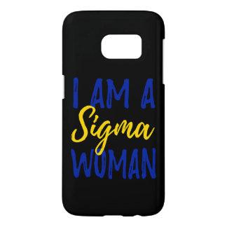 Sigma Woman Samsung Phone Case