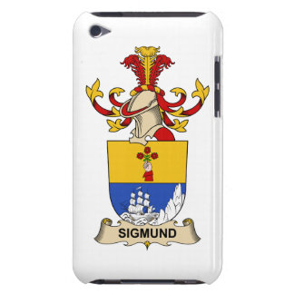 Sigmund Family Crest Barely There iPod Case