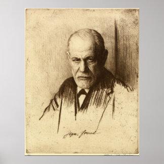 Sigmund Freud Art Print
