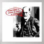 Sigmund Freud cigar quote square