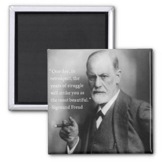Sigmund Freud Quote Magnet 2