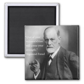 Sigmund Freud Quote Magnet 3