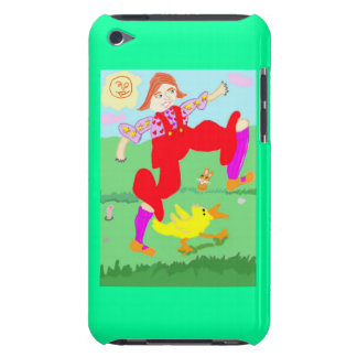 Sigmund The Duck And Abigail High Stepping It Barely There iPod Covers