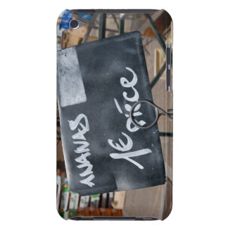 Sign for price of bananas in Euros Case-Mate iPod Touch Case