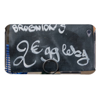 Sign for price of vegetables in Euros Barely There iPod Cases