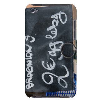 Sign for price of vegetables in Euros iPod Touch Case-Mate Case