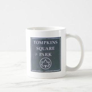 Sign from Tompkins Square Park New York City Coffee Mug
