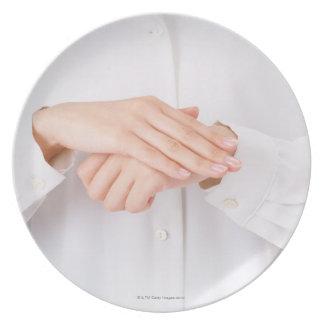 Sign Language 4 Plate