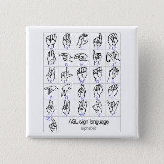 SIGN LANGUAGE ALPHABET button
