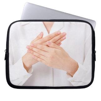 Sign Language Laptop Sleeve