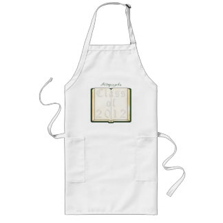 Sign My Class Of 2012 Long Apron