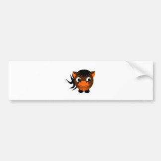 Sign of Chinese Zodiac: Horse Bumper Sticker