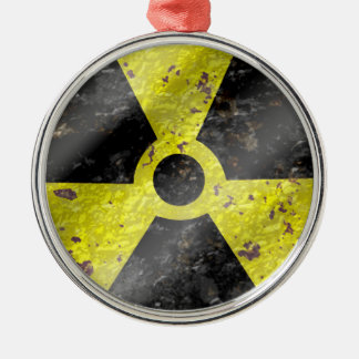 Sign of the times - fallout nuke radiation christmas ornament
