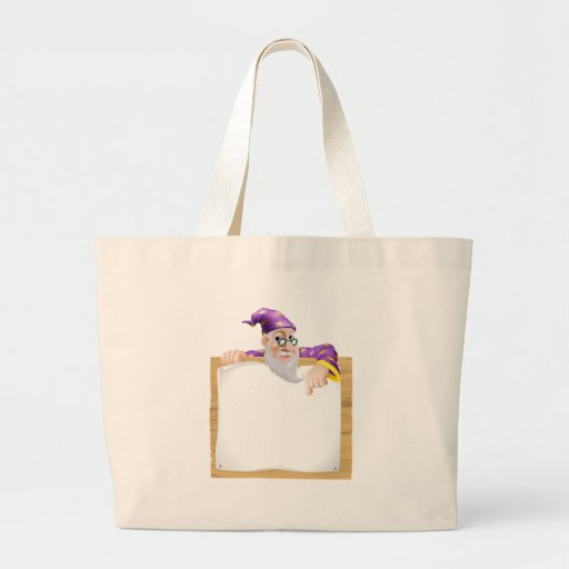 Sign Wizard Tote Bag