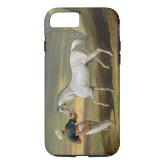 Signal, a grey Arab, with a Groom in the Desert (o iPhone 8/7 Case