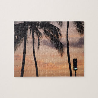 Signal and Palm Tree Jigsaw Puzzle