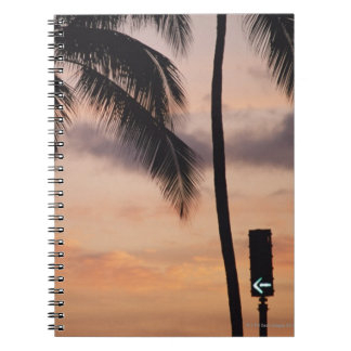Signal and Palm Tree Notebook