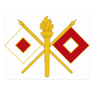 Signal Corps Insignia Postcard