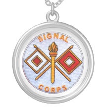 Signal Corps Necklace