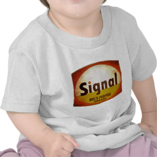 Signal Grease vintage sign weathered T Shirt
