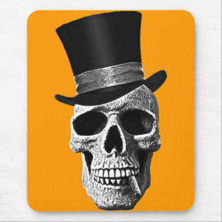 Signal hat skull mouse mat