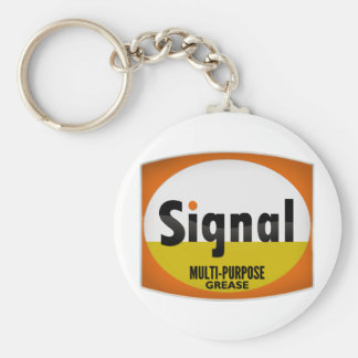 Signal Multi-Purpose Grease vintage sign crystal Key Chain