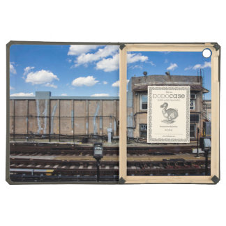 Signal post for trains iPad air cases