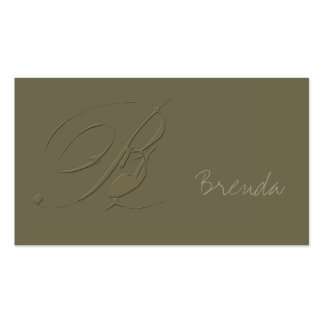 Signature B Business Cards