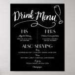 Signature Drink Menu   Wedding Decor