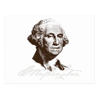 Signature George Washington Postcard