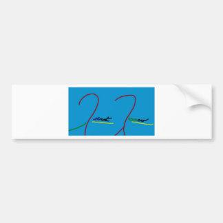 Signature line products by Robert Rasco Bumper Sticker