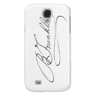 Signature of Founding Father Benjamin Franklin Galaxy S4 Case