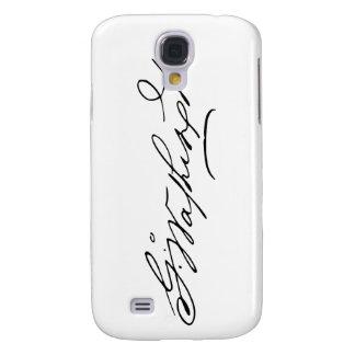 Signature of U.S. President George Washington Galaxy S4 Case