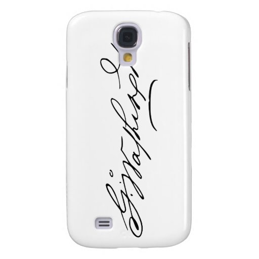 Signature of U.S. President George Washington Galaxy S4 Covers