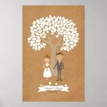 Signature Tree with Custom Couple Portrait
